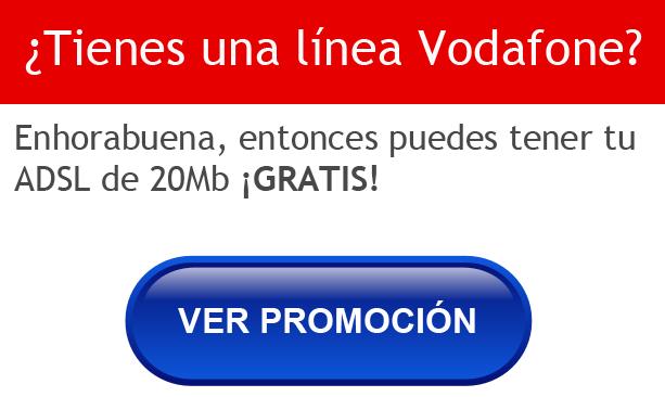 Consigue tu ADSL de Vodafone totalmente GRATIS